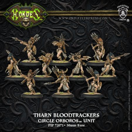 Circle Orboros Tharn Bloodtrackers (10)